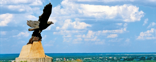 "Monument ""Steppe Eagle"". Sholokhov places"
