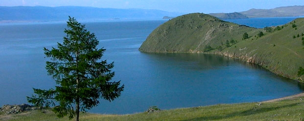 Lake Baikal. The deepest (1642 m) lake on the planet. UNESCO