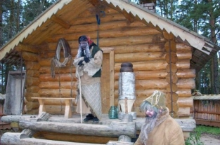 The Hut of Baba-Yaga. Kukoboy