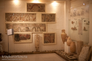 "An archaeological open air museum ""Gorgippia"". IV BC - III AD. Anapa."